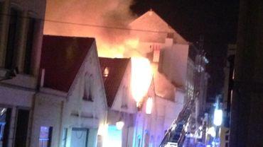 Incendie à Saint-Gilles