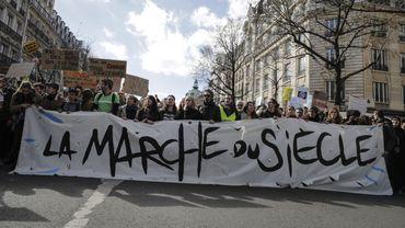 """Cette """"Marche du siècle""""a rassemblé 45.000 personnes dans la capitale française."""