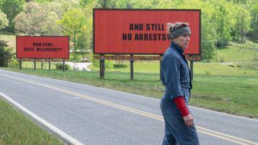 L'Agenda Ciné de la semaine avec '3 billboards, les panneaux de la vengeance' et 'La belle et la meute'