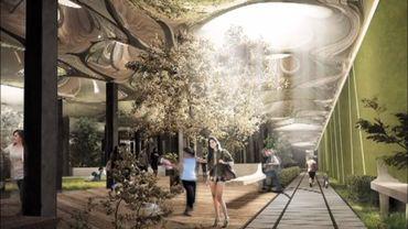 La Lowline, à New York, un projet de parc souterrain