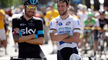 Bradley Wiggins et Mark Cavendish