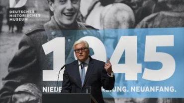 """Berlin commémore la fin de la Seconde Guerre mondiale et insiste sur sa """"responsabilité"""""""