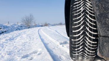 neige - voiture