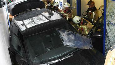 Bruxelles: un automobiliste entre dans un parking souterrain… par l'accès pour piétons