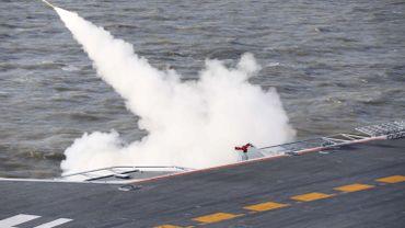Première sortie dans le Pacifique pour le porte-avions chinois