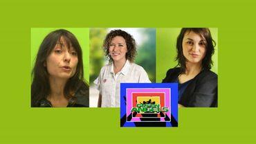 """De gauche à droite, Véronica Cremasco, Sarah Schlitz et Caroline Saal: les """"primaires"""" se préparent, chez Ecolo"""