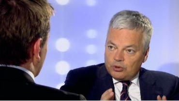 Didier Reynders, dans l'Indiscret, évoque les différents scénarios pour le sauvetage de Dexia