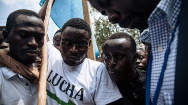 A Goma, le mouvementde la Lucha (lutte pour le changement) est plus mobilisé que jamais.