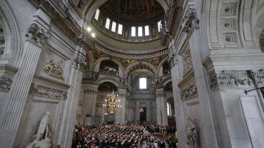 L'intérieur de la Cathédrale Saint Paul à Londres