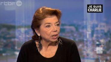 L'ambassadrice de la Palestine auprès de l'Union européenne Leïla Shahid