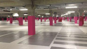 Le parking RER est aujourd'hui très peu rempli. Les aménagements prévus convaincront-ils les automobilistes de s'y aventurer et de prendre le train?
