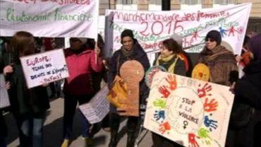 La Marche Mondiale des Femmes fait escale à Bruxelles
