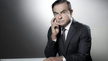 Carlos Ghosn le 12 septembre 2018 au siège de Renault à Boulogne-Billancourt.
