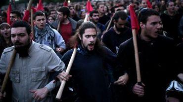 Selon la police, environ 16.000 personnes ont participé aux manifestations à Athènes