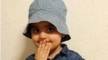 Mawda, 2 ans, décédée ce jeudi matin.