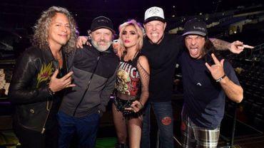 Pas de collaboration Gaga/Metallica
