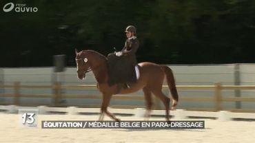 Equitation: du cancer à la médaille de bronze, portrait de la combattante Barbara Minneci