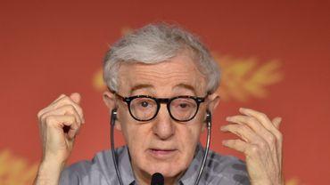 """Woody Allen à la conférence de presse présentant son film """"Café Society"""" à Cannes"""