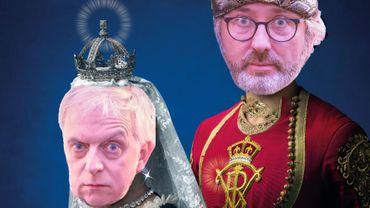 Rudy et Hugues, des confidents royaux