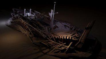 Des bateaux vieux de plusieurs siècles retrouvés en parfait état dans au fond de la mer Noire