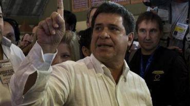 Le chef d'entreprise Horacio Cartès élu président du Paraguay