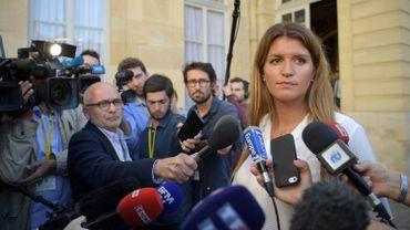 La ministre française de l'Egalité des Chances, Marlène Schiappa, ce 3 septembre