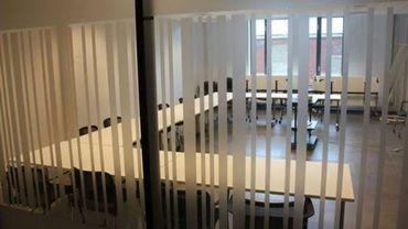 Salle de formation chez Switch Coworking Charleroi