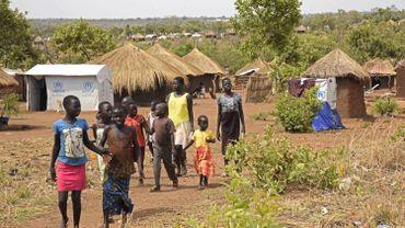 Des réfugié du Sud-Soudan dans un camp en Ouganda