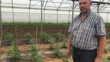 Joël Lambert, agriculteur bio à Orp-le-Grand