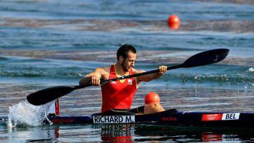 Maxime Richard 4e du 500m K1 à Ranice