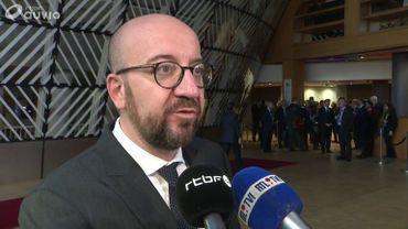 """Charles Michel dénonce les jeux politiciens et met en garde contre """"un nouveau record du monde d'instabilité et de chaos"""""""