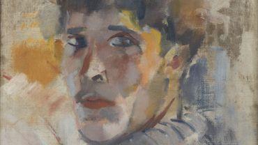 Portrait de Rik (sans chapeau), 1911, huile sur toile, 30 x 32 cm, collection privée