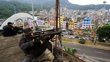 La police sécurise la Rocinha