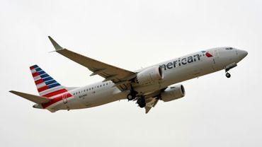 Un Boeing 737 Max d'American Airlines en décembre 2020 à Dallas, au Texas