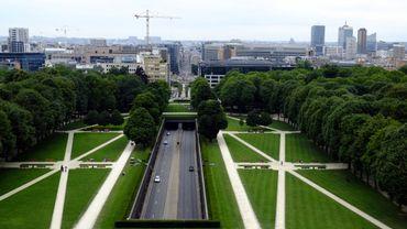 Fortes rafales de vent: fermeture des parcs à Namur et à Bruxelles