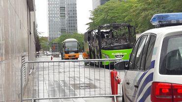 Le bus a été détruit