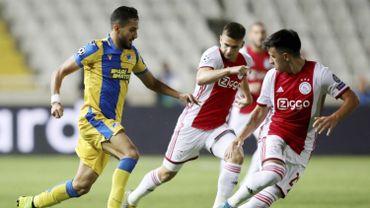 L'Ajax échappe à la défaite contre l'APOEL, Prague gagne à Cluj