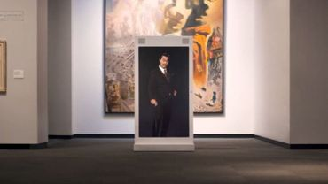 Salvador Dali reprend vie dans un musée grâce à l'intelligence artificielle