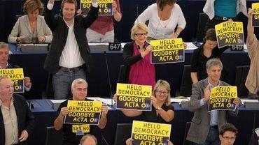 Le parlement européen a enterré le traité Acta ce mercredi