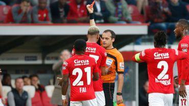 Collins Fai risque une suspension de trois matches