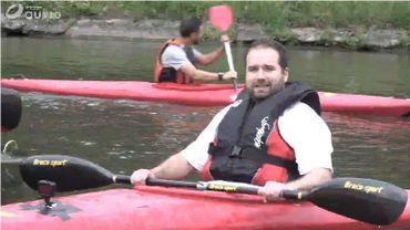 Initiation au kayak... tombera ou tombera pas?