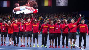 La Belgique, finaliste de la Coupe Davis dimanche, sur le podium au classement mondial