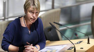 La ministre flamande de l'Environnement Joke Schauvliege (CD&V)