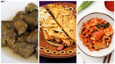 Dolma, tortilla et kimshi: trois plats inscrits au patrimoine de l'Unesco.