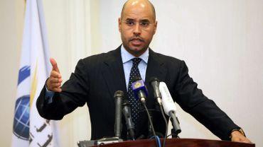 Saif al-Islam Gaddafi, avant son arrestation dans le sud de la Libye.