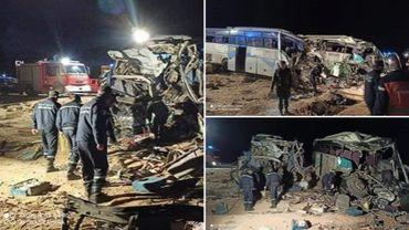 Algérie: 12 morts, 46 blessés dans un choc frontal entre bus