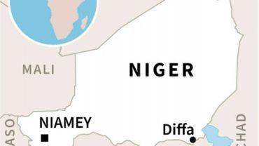 Localisation de Diffa au Niger