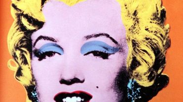 """Orange Marilyn"" d'Andy Warhol"
