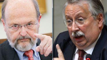 Des propos peu amènes ont été échangés par les deux hommes au sujet de la proposition de loi d'Etienne Schouppe