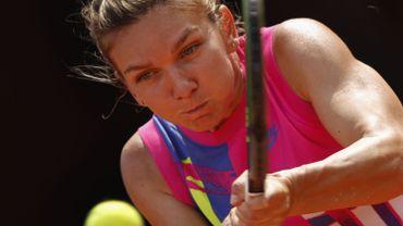 Simona Halep, tête de série numéro 1, tient son rang au tournoi WTA de Rome.